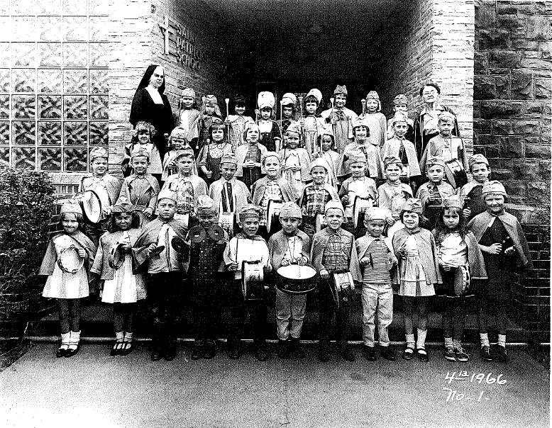 Parish school and children