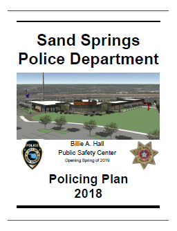 Policing Plan 2018 Cover