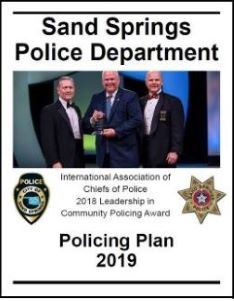 Policing Plan 2019 Cover